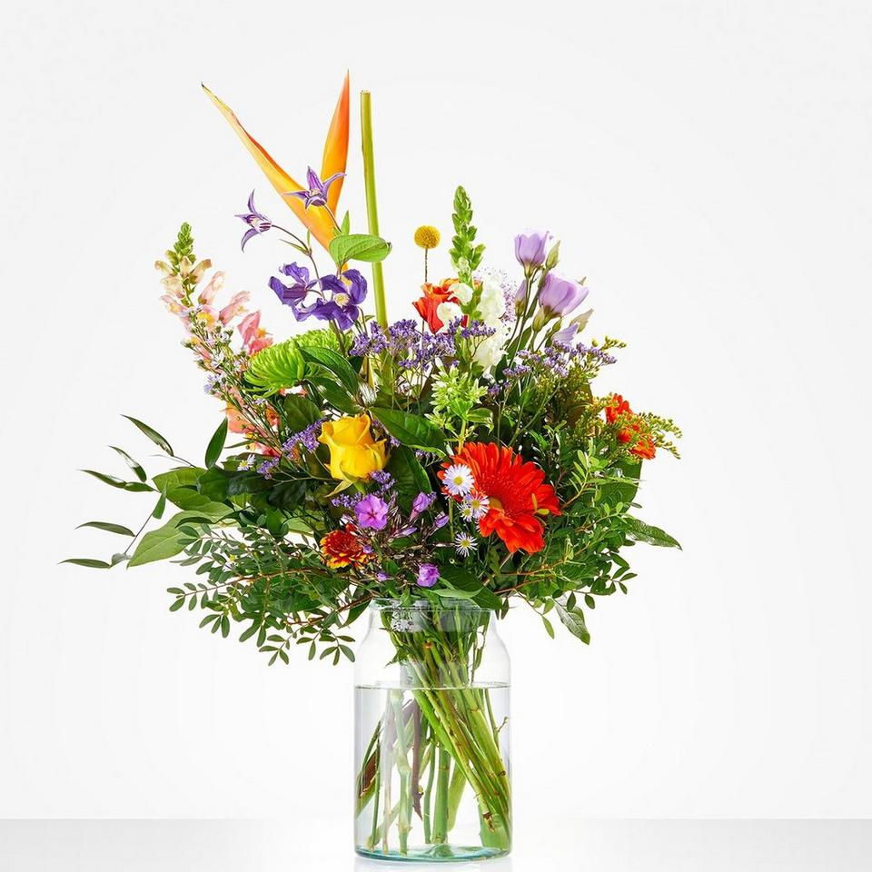 Image 1 of 1 of Bouquet: Get well soon; excl. vase