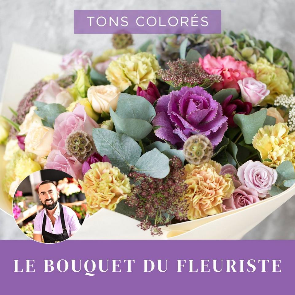 Image 1 of 1 of Bouquet du fleuriste Multicolore