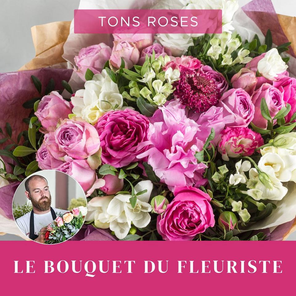 Image 1 of 1 of Bouquet du fleuriste Rose