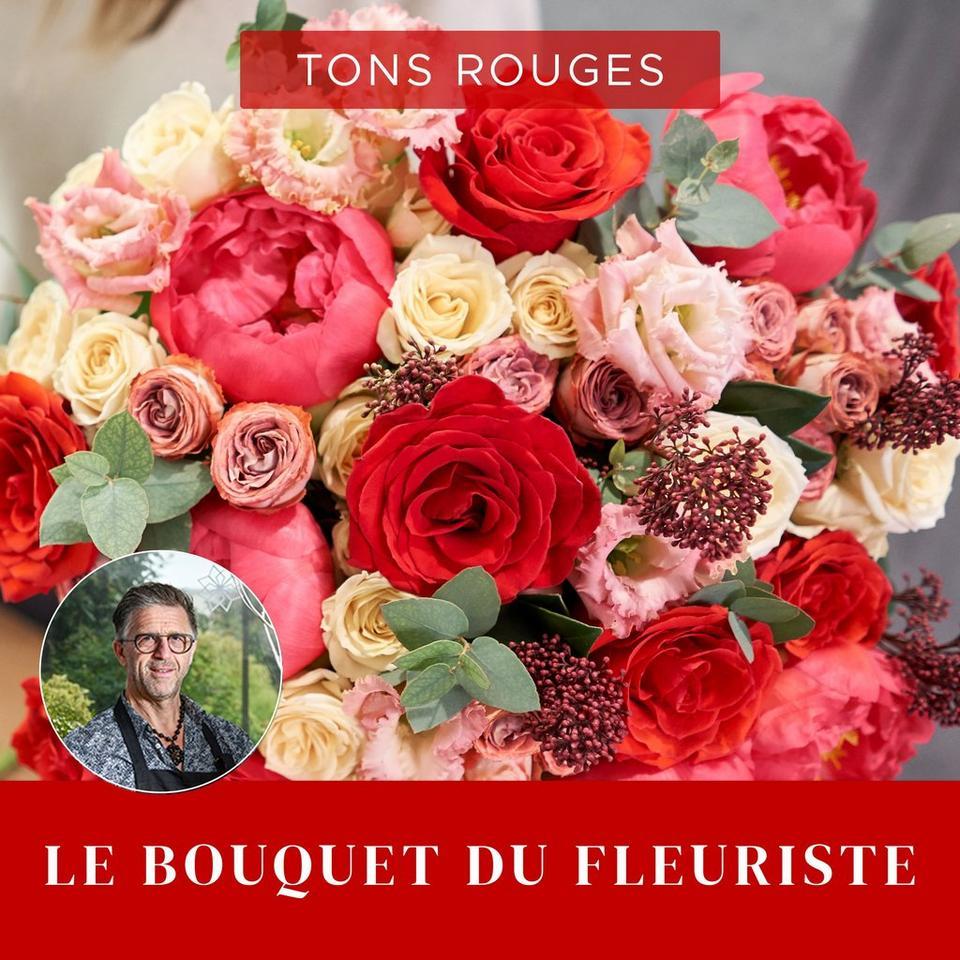 Image 1 of 1 of Bouquet du fleuriste Rouge