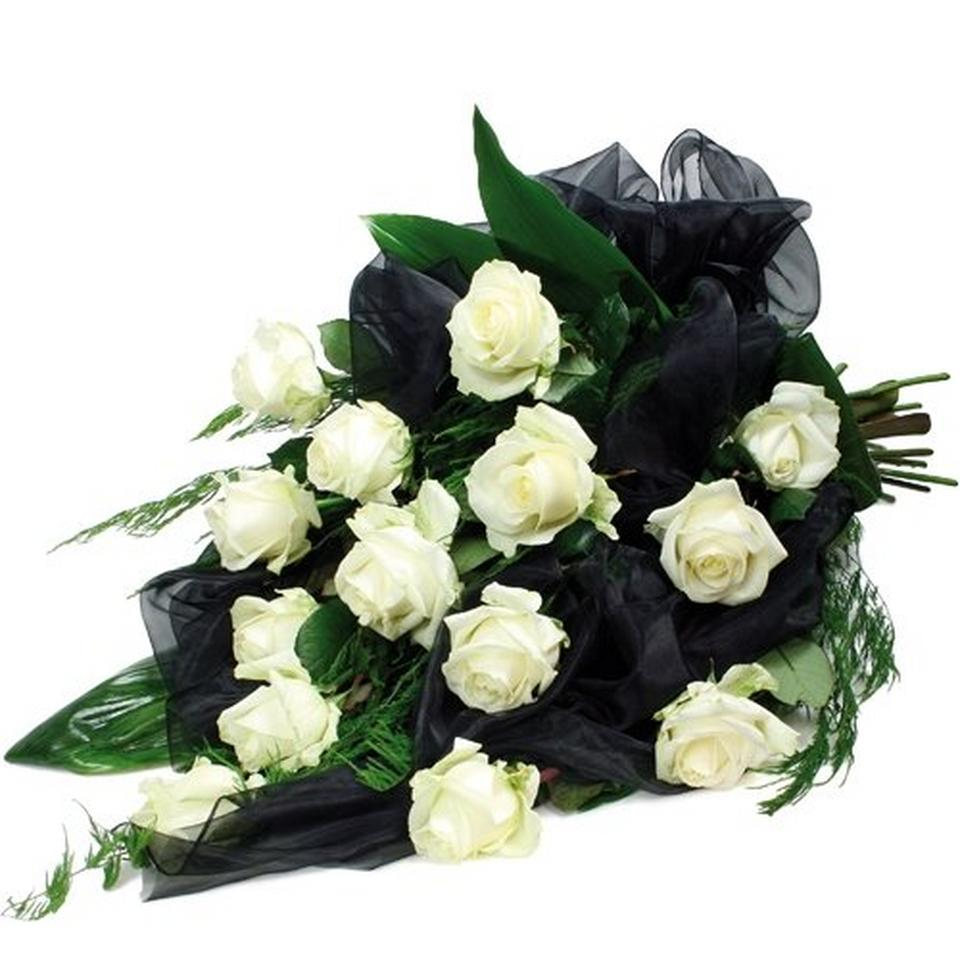 Image 1 of 1 of The condolences bouquet