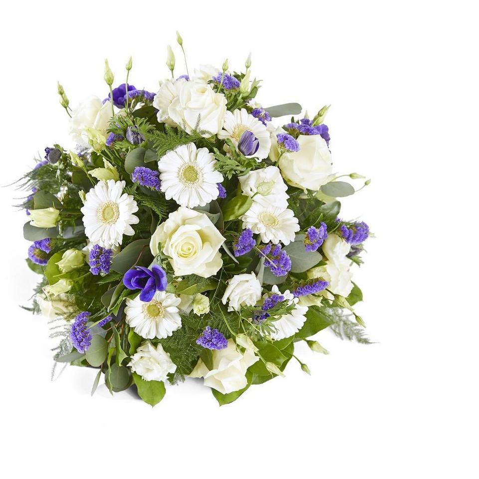 Image 1 of 1 of Funeral: Farewell; Funeral Bouquet Biedermeier