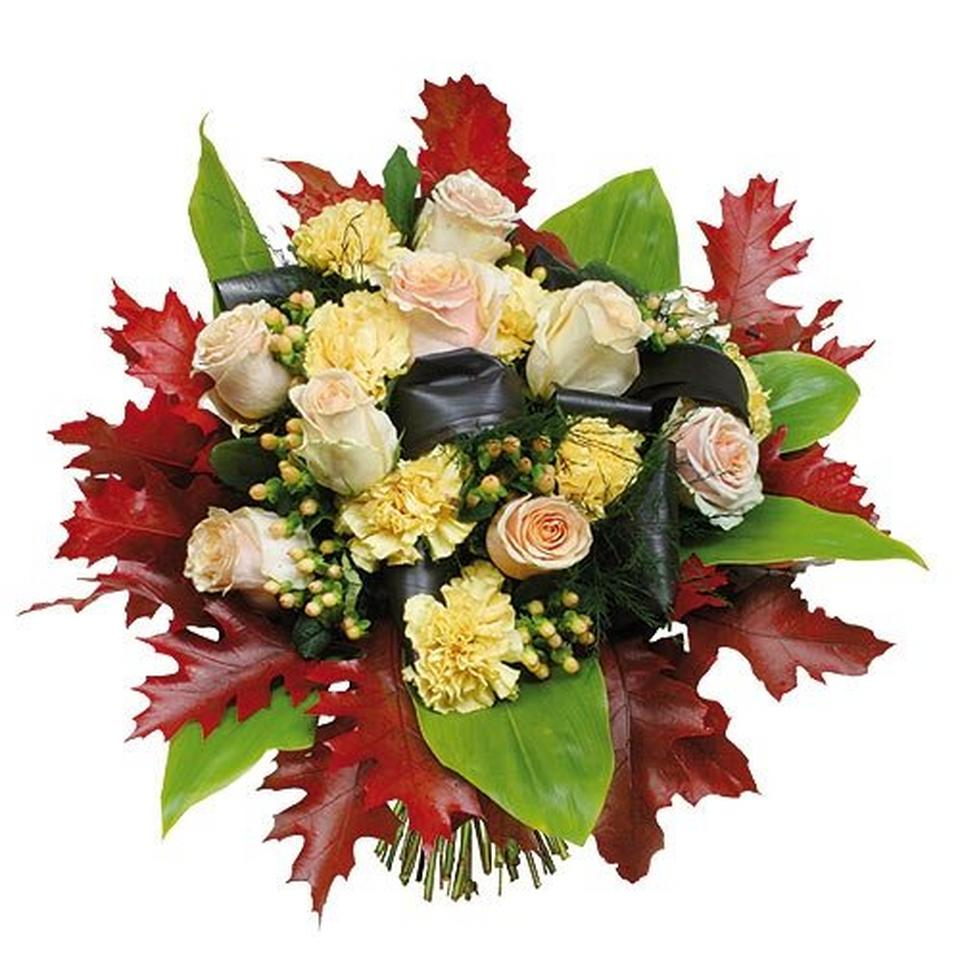Image 1 of 1 of Flower flame bouquet