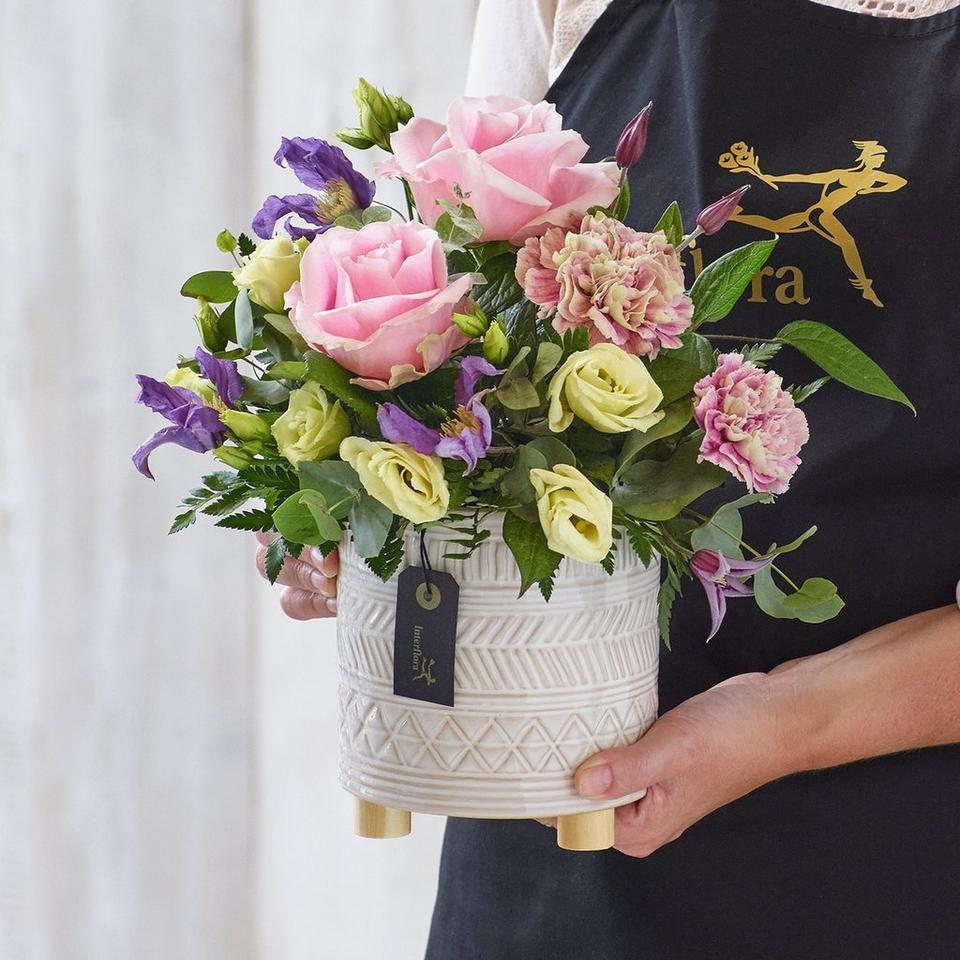 Each arrangement is one-of-a-kind