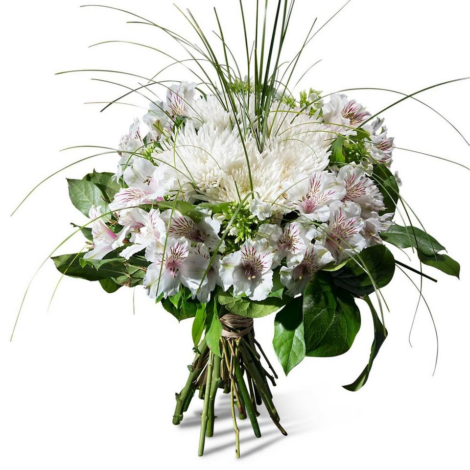 Image 1 of 1 of Condolence bouquet in white shades