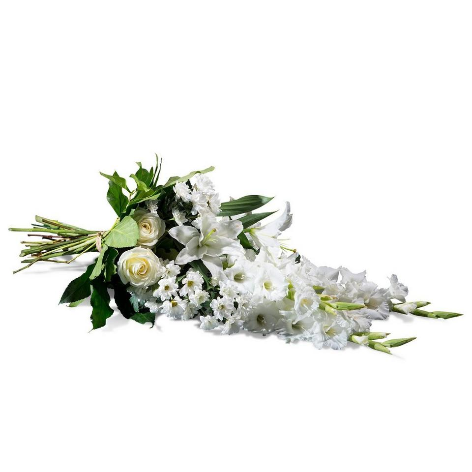 Image 1 of 1 of Horizontal Bouquet in white shades