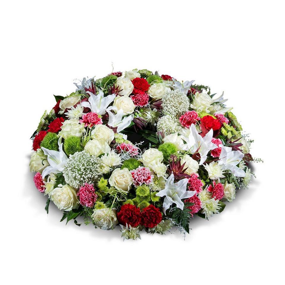 Image 1 of 1 of Medium multicoloured wreath