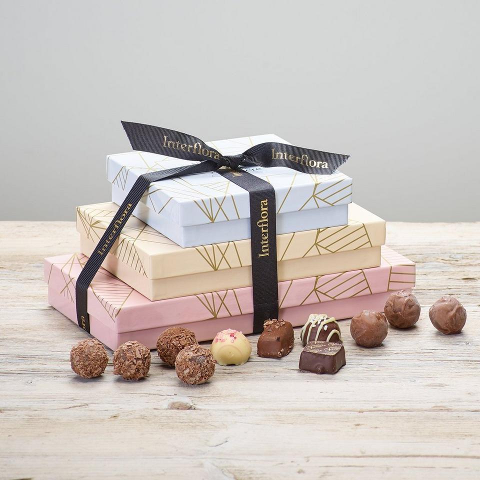 Image 1 of 2 of Trio of Chocolates Gift Set