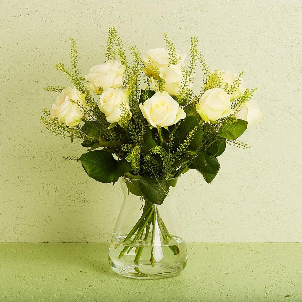 Image 1 of 1 of The white roses