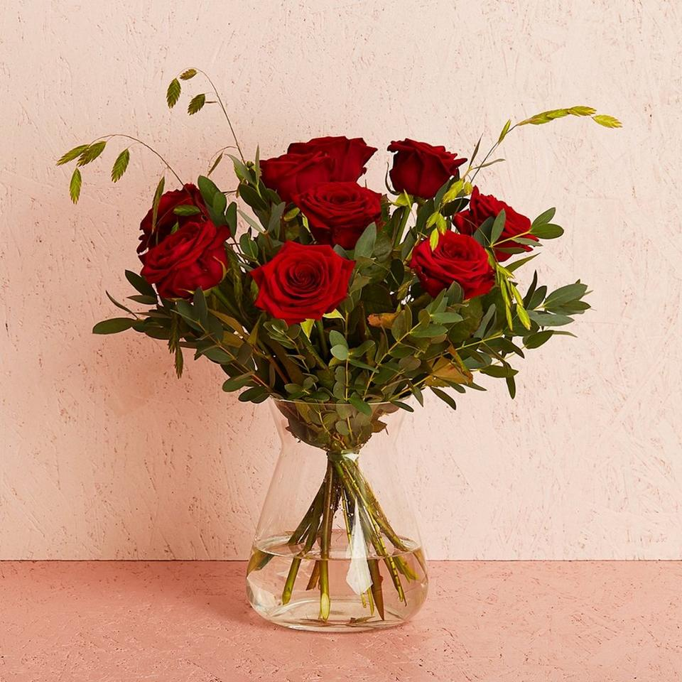 Image 1 of 1 of The red roses