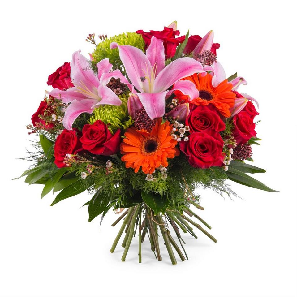 Image 1 of 1 of Bouquet of mixed flowers