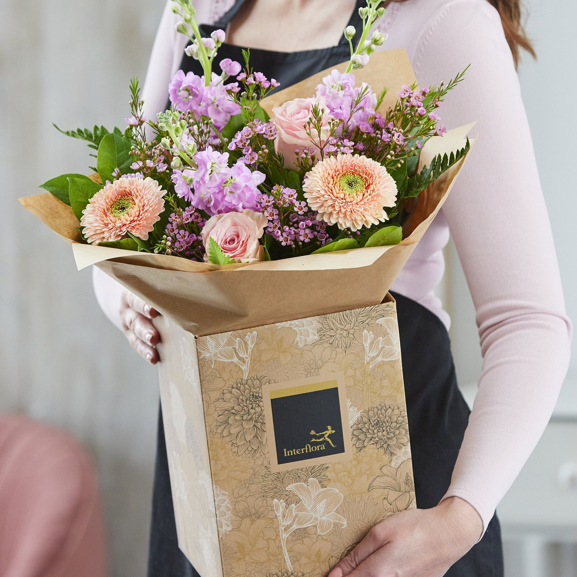 Click to view product details and reviews for Autumn Lily Free Hand Tied Bouquet Made With The Finest Flowers.
