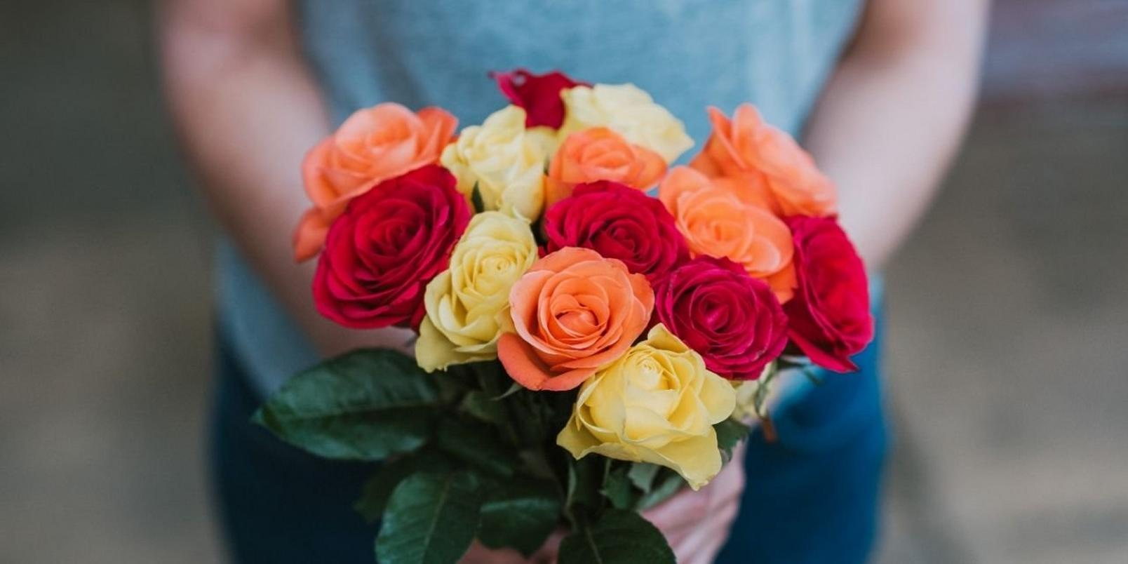 Roses-bunch