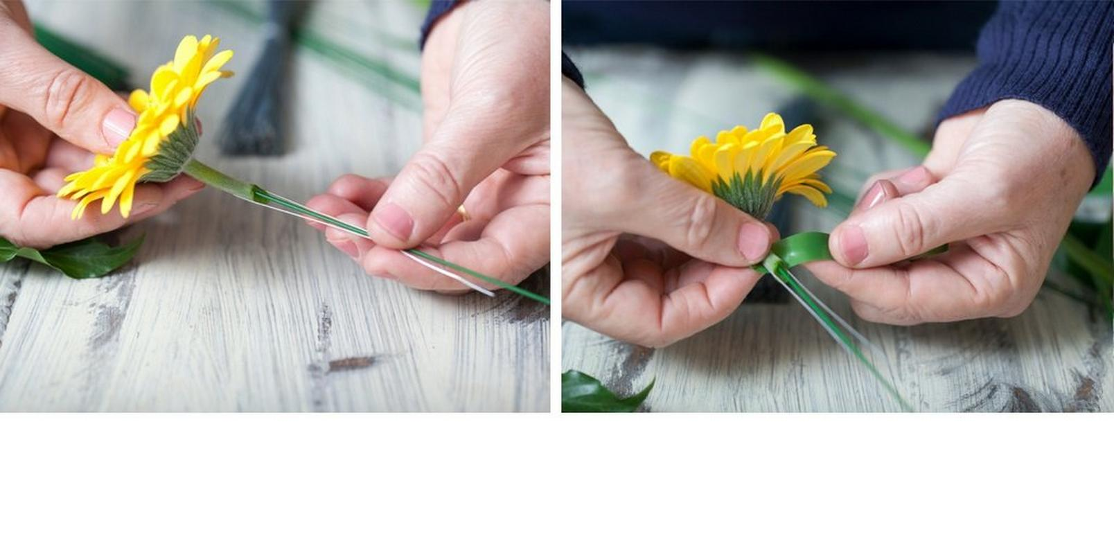 how to make a flower crownstep2