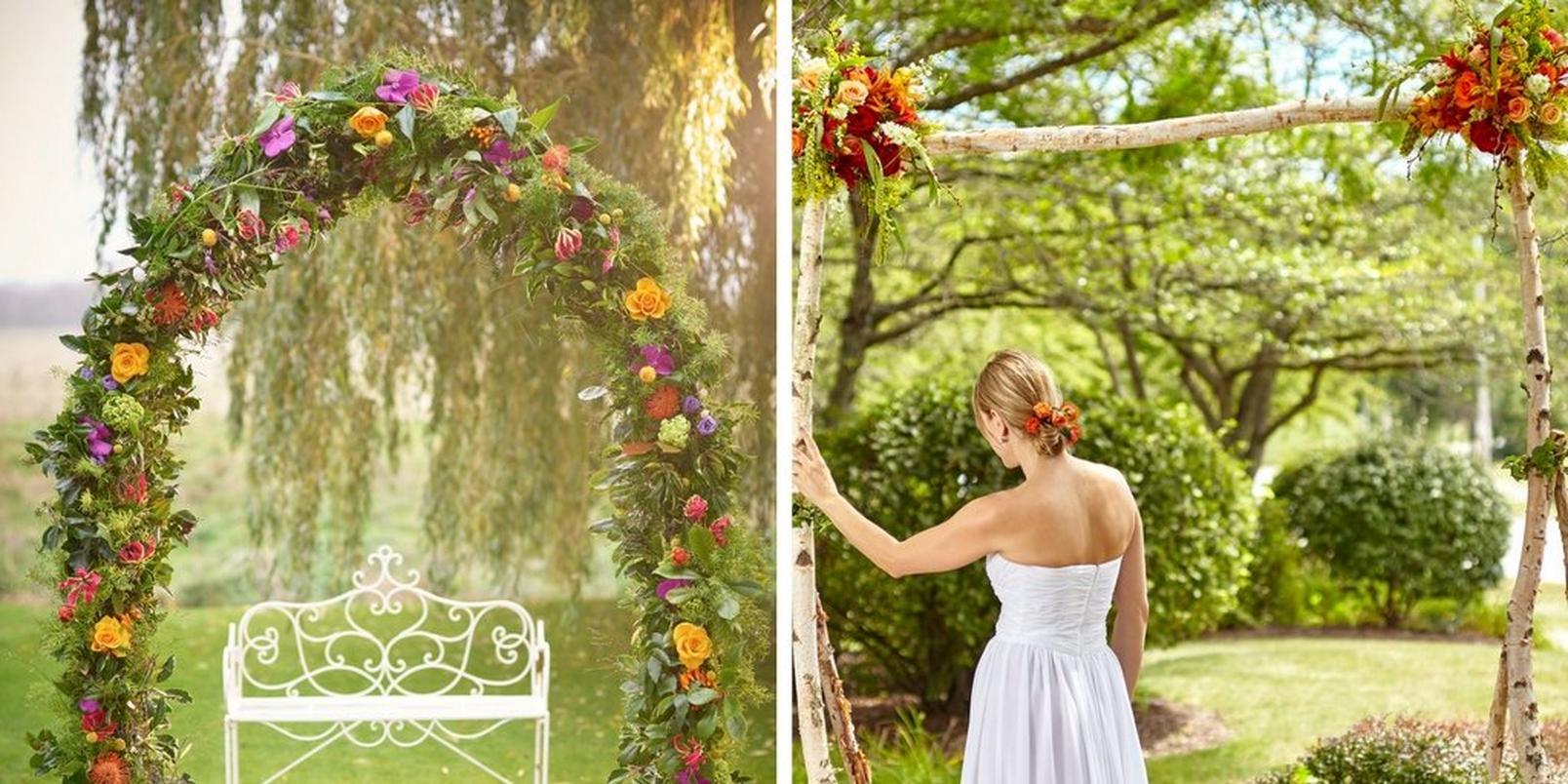 wedding-flower-arches