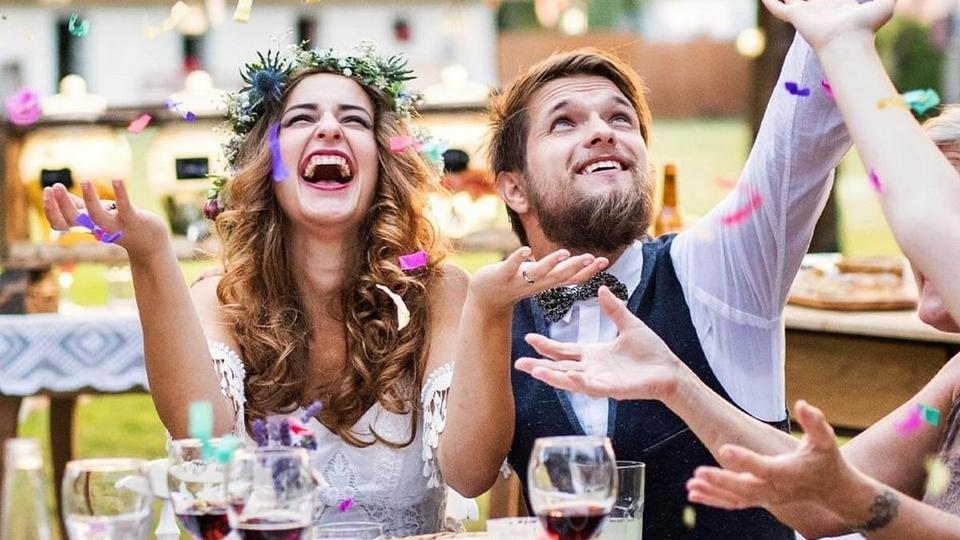 woman-and-man-wedding-wishes-party-crop